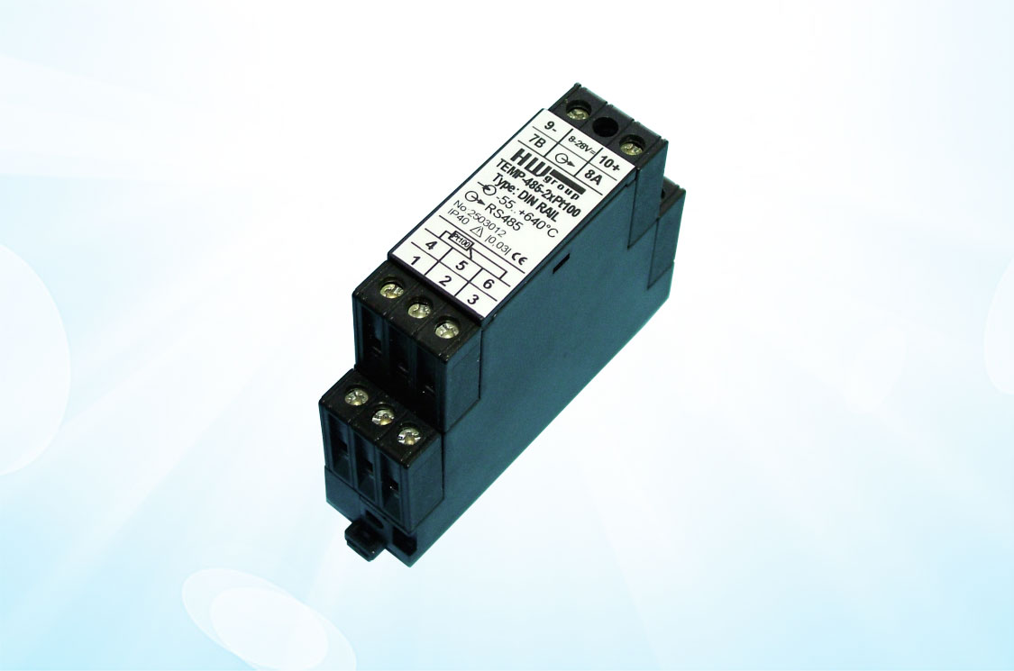 picture of Temp-485-2xPt100 DIN